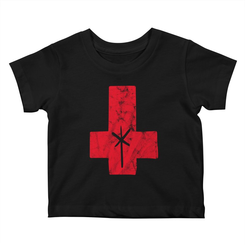 Red Crx Kids Baby T-Shirt by starcrx's Artist Shop