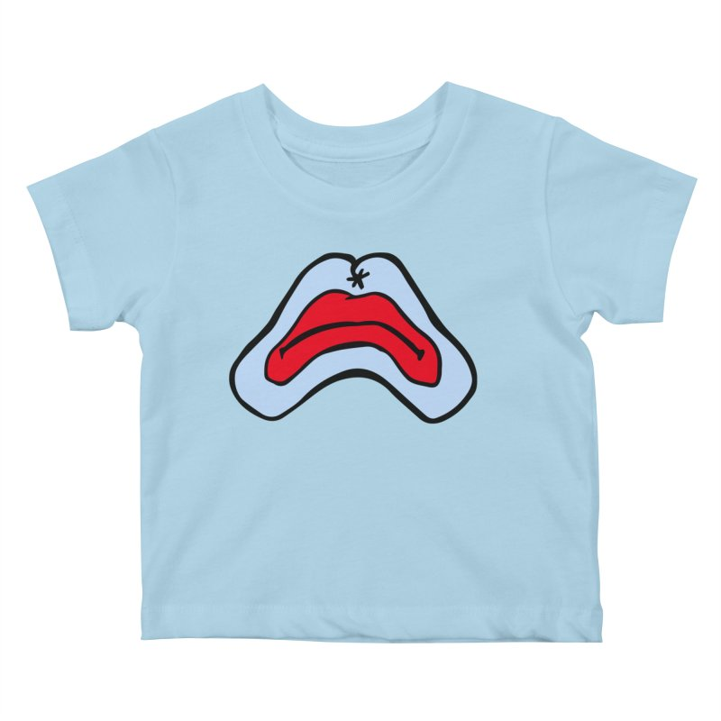 Frown Kids Baby T-Shirt by starcrx's Artist Shop