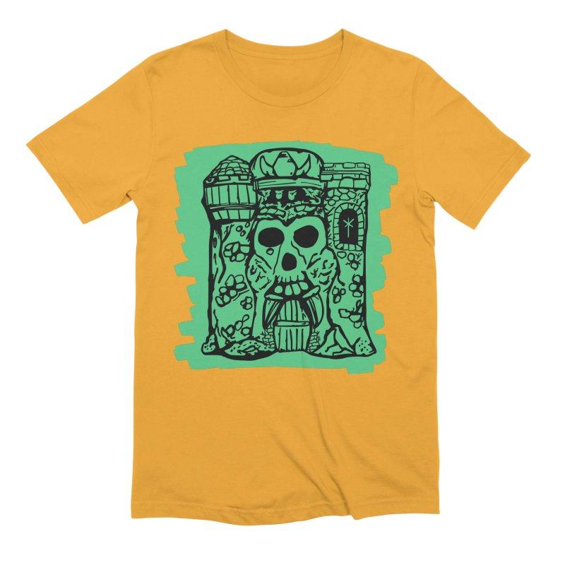 Grayskull Men's T-Shirt by starcrx's Artist Shop