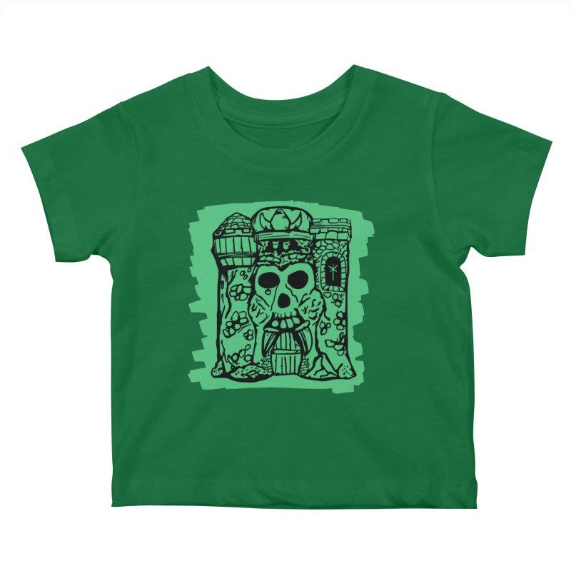 Grayskull Kids Baby T-Shirt by starcrx's Artist Shop