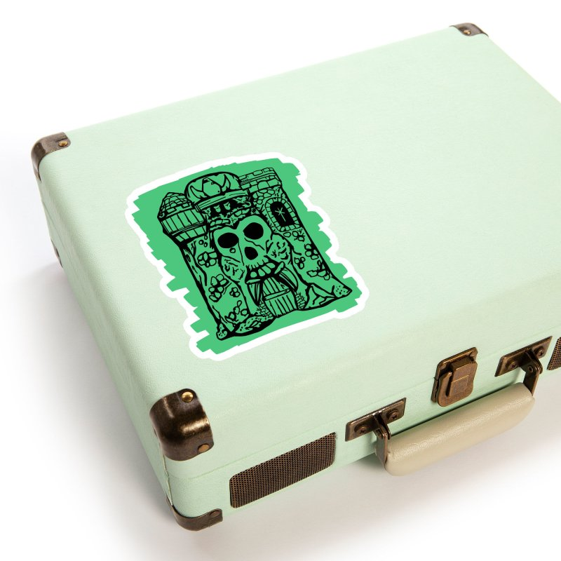 Grayskull Accessories Sticker by starcrx's Artist Shop