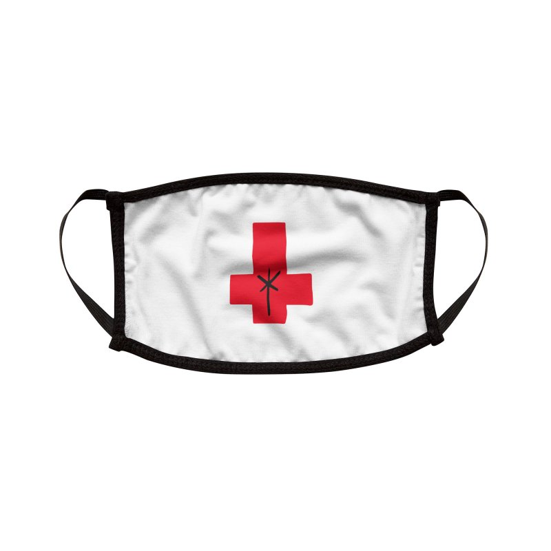 Redcrx [white] Accessories Face Mask by starcrx's Artist Shop
