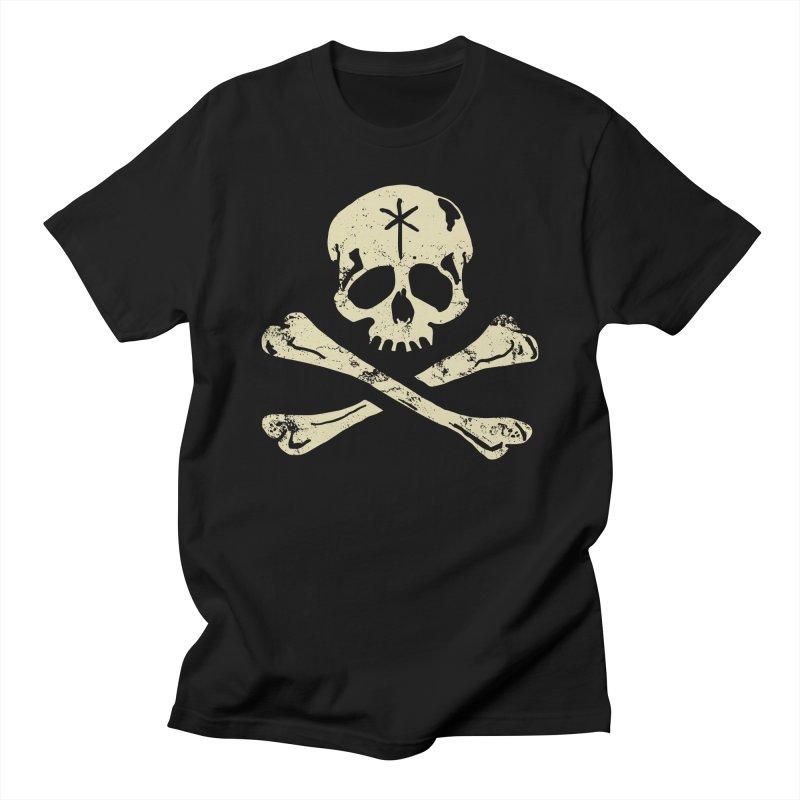 SkullX [black] Men's T-Shirt by starcrx's Artist Shop