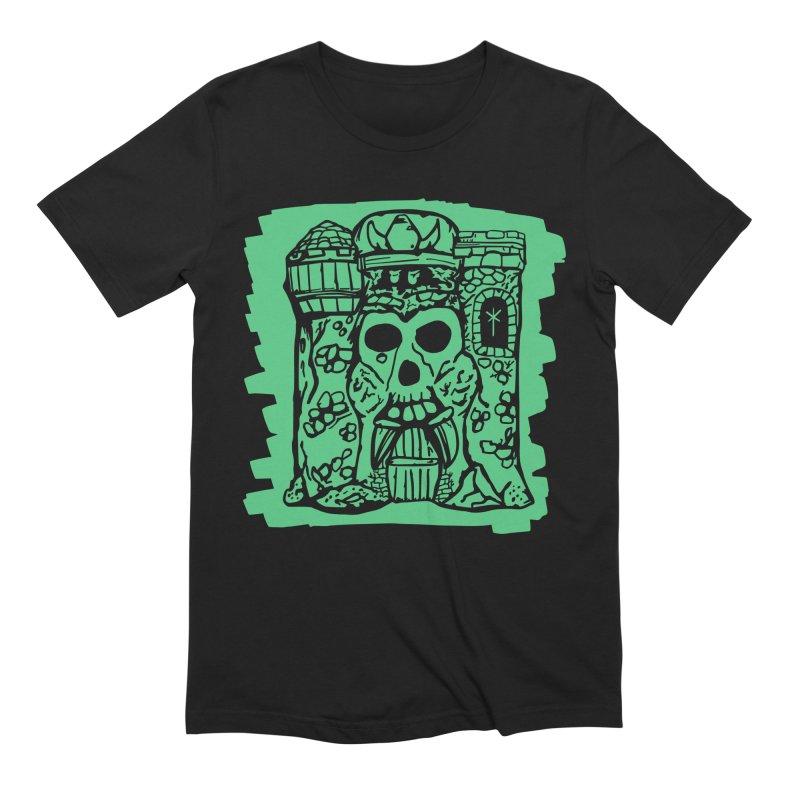 Grayskull [black] Men's T-Shirt by starcrx's Artist Shop