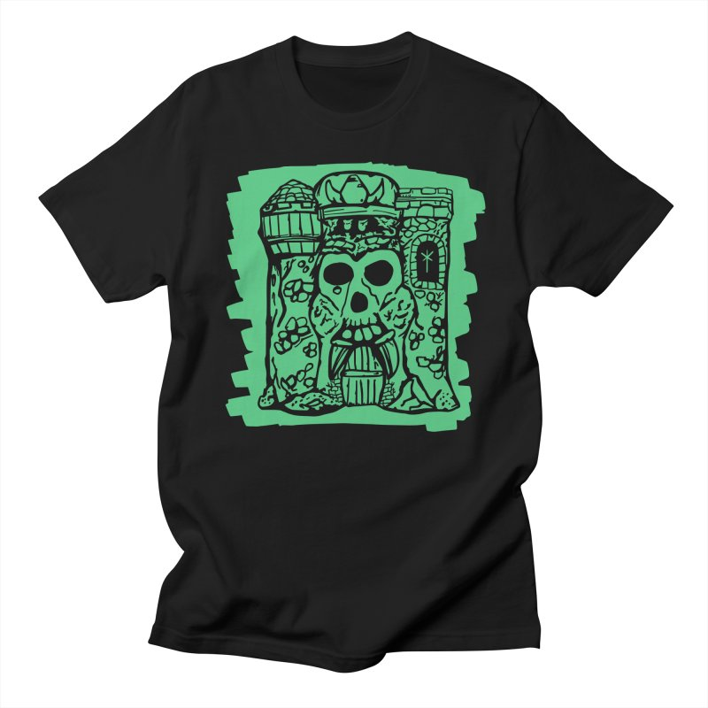 Grayskull [black] Men's T-Shirt by starcrx's Artist Shop