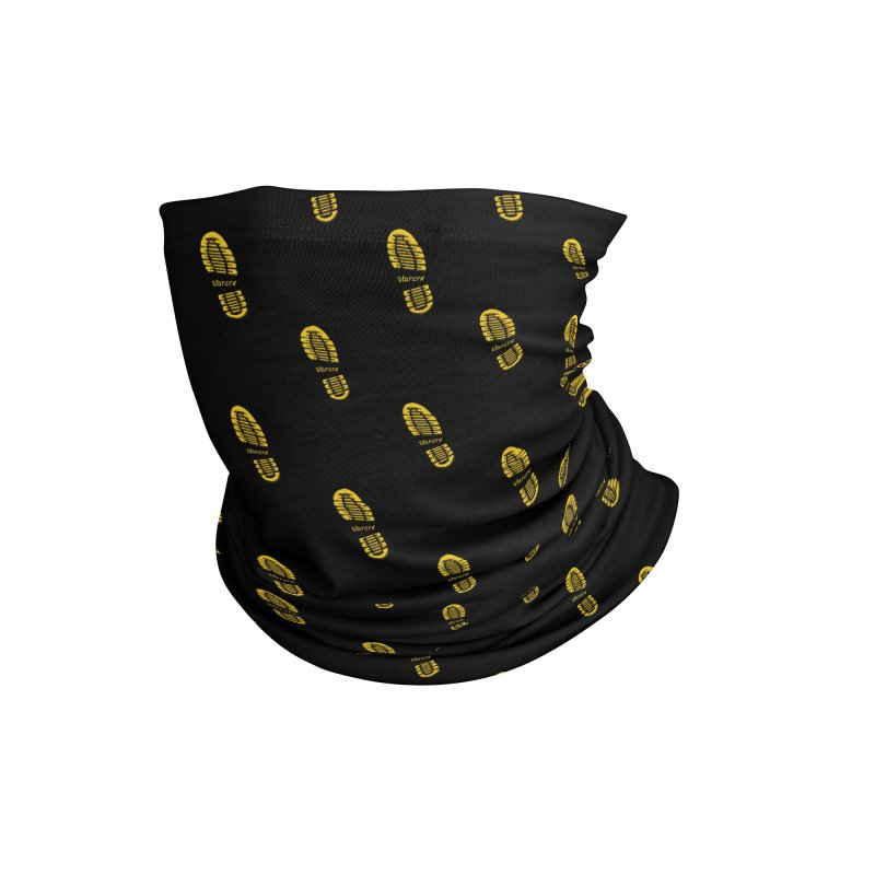 Yellow Foot Prints Accessories Neck Gaiter by starcrx's Artist Shop