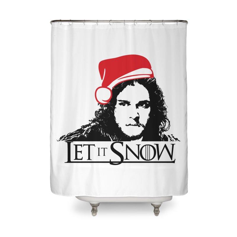 Jon Snow LET IT SNOW GAME OF THRONES Santa Hat Christmas HBO