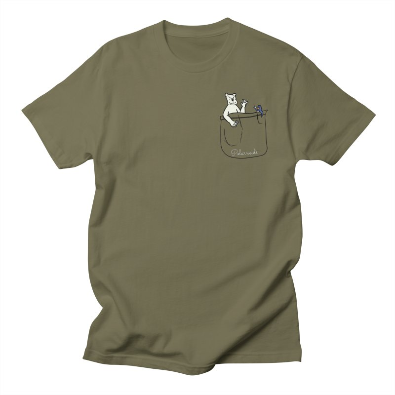 Pocket Polarnoids Women's Regular Unisex T-Shirt by Starry Knight Studios