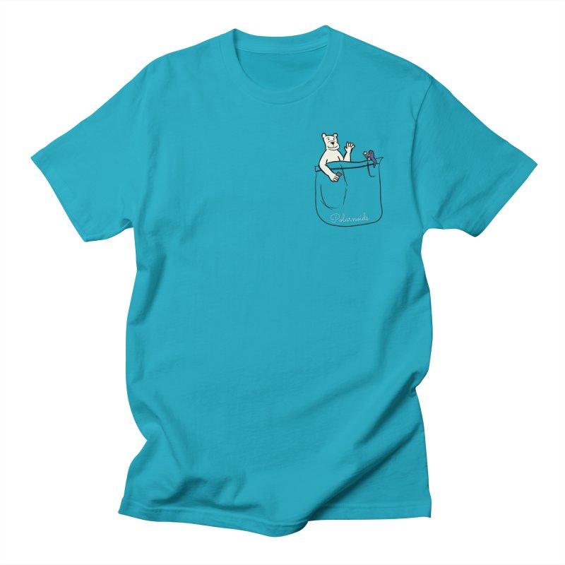 Pocket Polarnoids Men's Regular T-Shirt by Starry Knight Studios