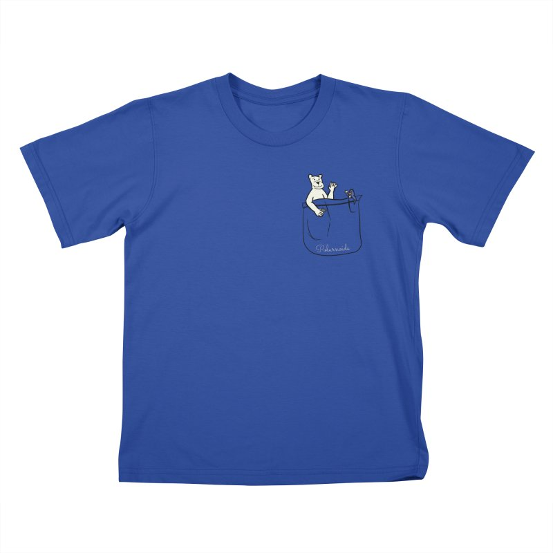 Pocket Polarnoids Kids T-Shirt by Starry Knight Studios