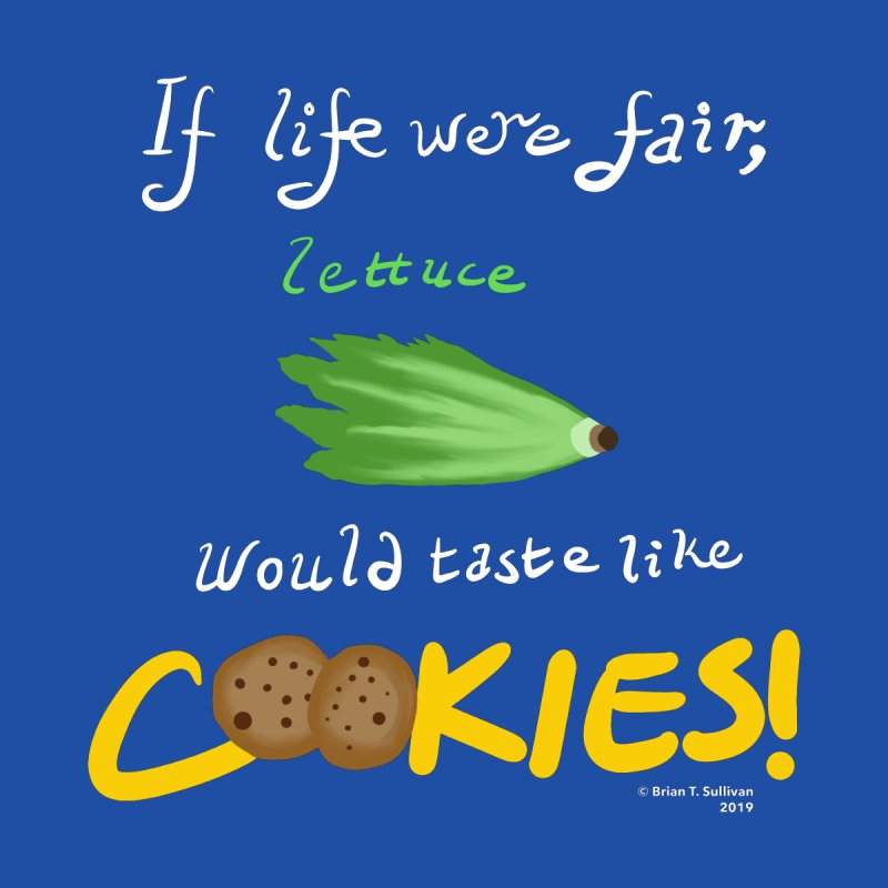 Lettuce Cookies Women's T-Shirt by Starry Knight Studios