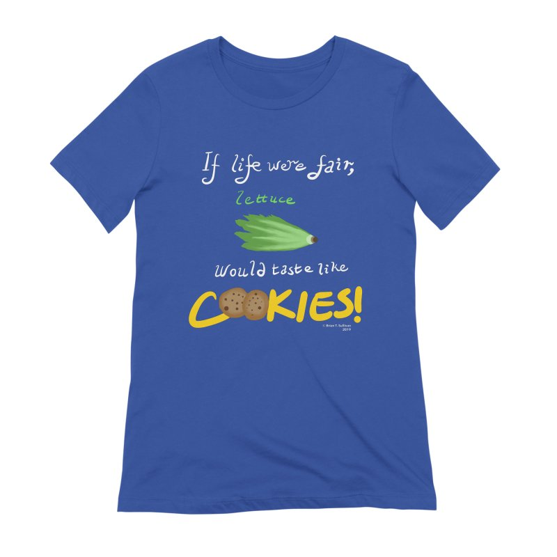 Lettuce Cookies Women's Extra Soft T-Shirt by Starry Knight Studios