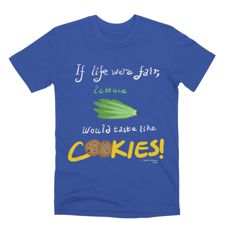 Lettuce Cookies Men's Premium T-Shirt by Starry Knight Studios