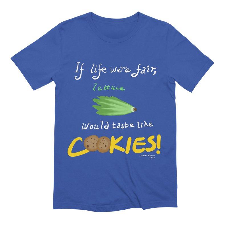 Lettuce Cookies Men's T-Shirt by Starry Knight Studios