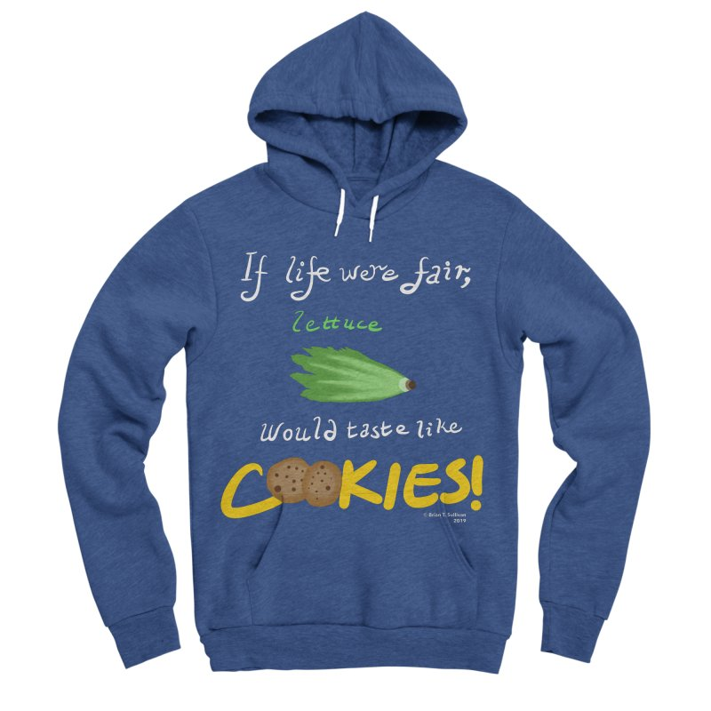 Lettuce Cookies Women's Sponge Fleece Pullover Hoody by Starry Knight Studios