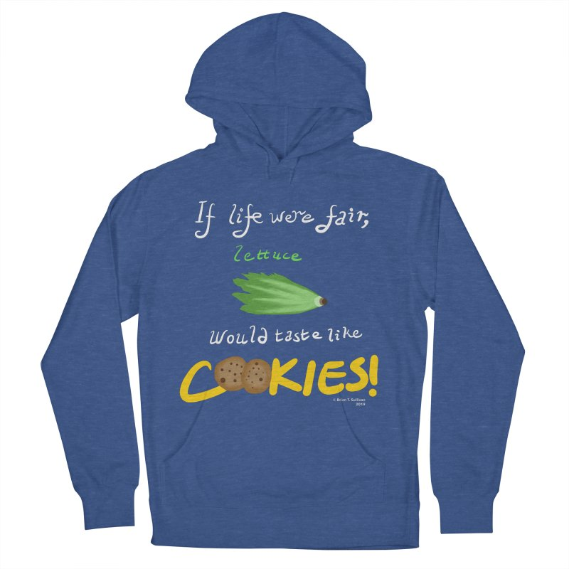 Lettuce Cookies Women's French Terry Pullover Hoody by Starry Knight Studios