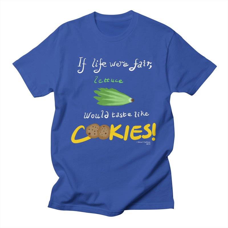 Lettuce Cookies Men's T-Shirt by Starry Knight Studios