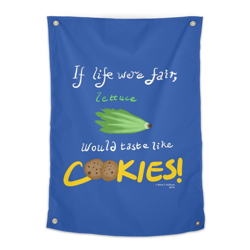 Lettuce Cookies Home Tapestry by Starry Knight Studios