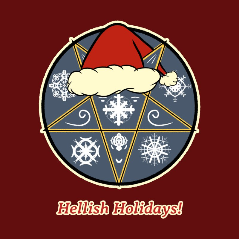 Hellish Holidays Men's T-Shirt by Starry Knight Studios