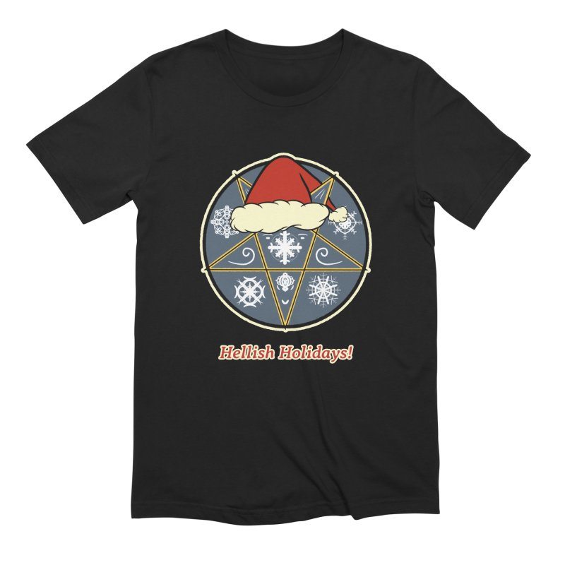 Hellish Holidays Men's T-Shirt by Starry Knight Studios