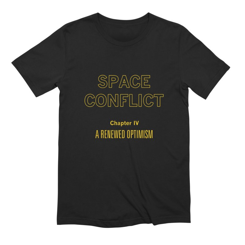 Space Conflict – Chapter IV: A Renewed Optimism Men's Extra Soft T-Shirt by Starry Knight Studios