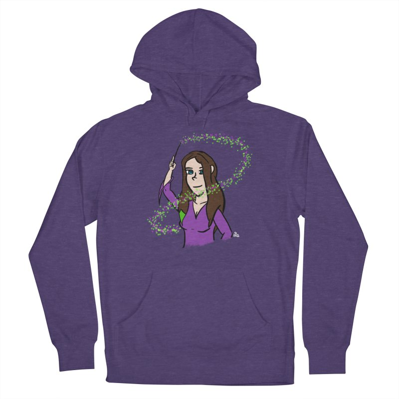 Brandy de Hex Women's French Terry Pullover Hoody by Starry Knight Studios