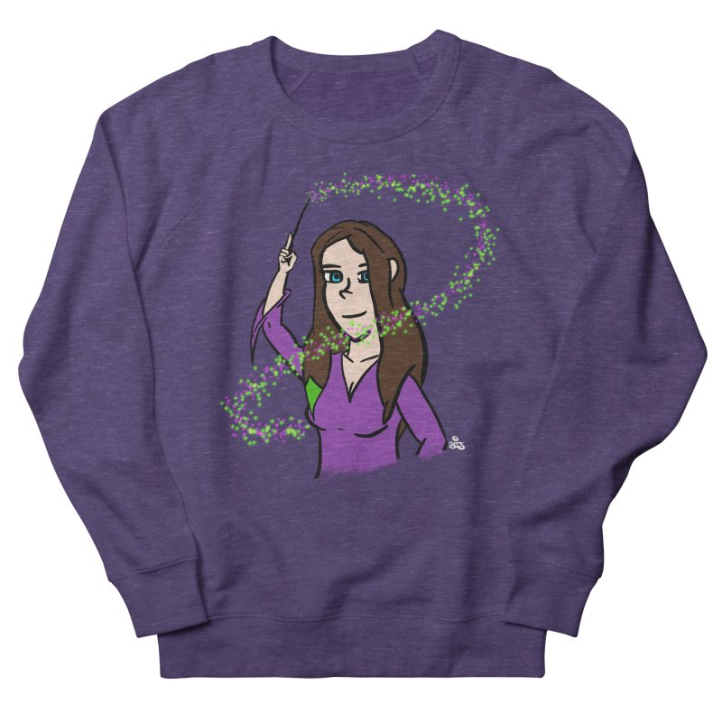 Brandy de Hex Women's French Terry Sweatshirt by Starry Knight Studios