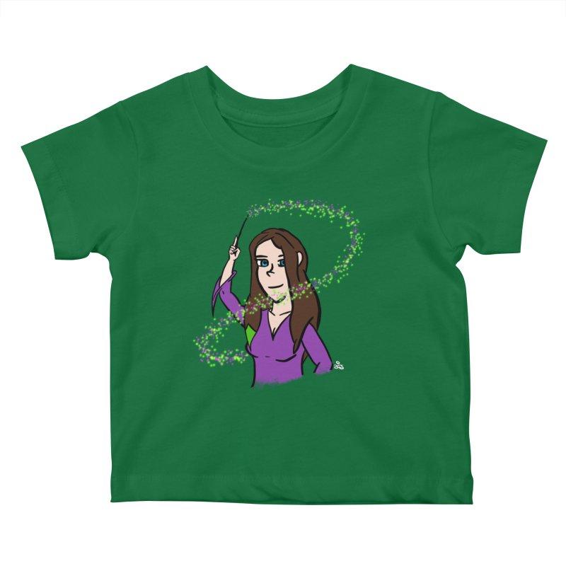 Brandy de Hex Kids Baby T-Shirt by Starry Knight Studios