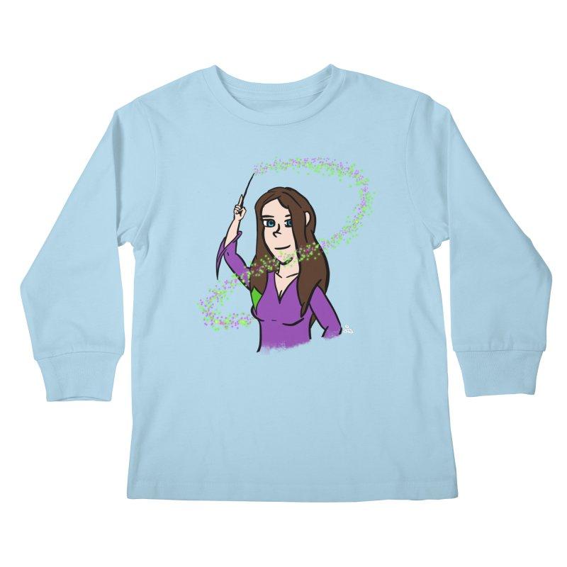 Brandy de Hex Kids Longsleeve T-Shirt by Starry Knight Studios