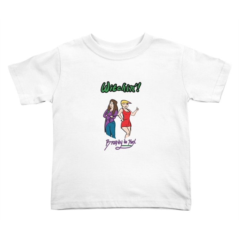 Brandy de Hex: Witchin'! Kids Toddler T-Shirt by Starry Knight Studios