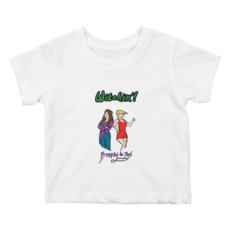 Brandy de Hex: Witchin'! Kids Baby T-Shirt by Starry Knight Studios