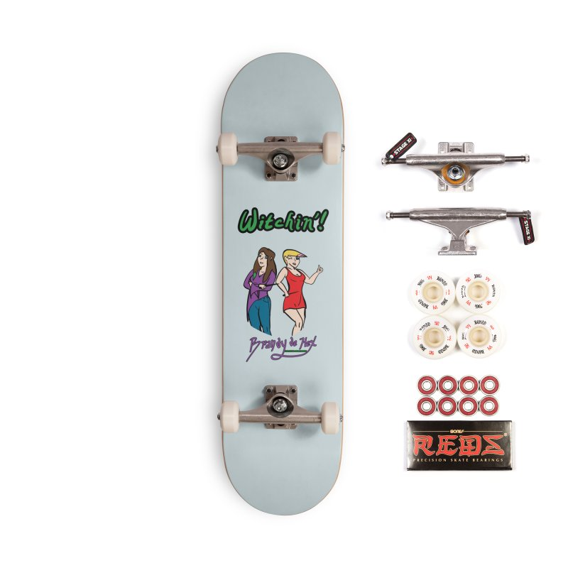 Brandy de Hex: Witchin'! Accessories Complete - Pro Skateboard by Starry Knight Studios