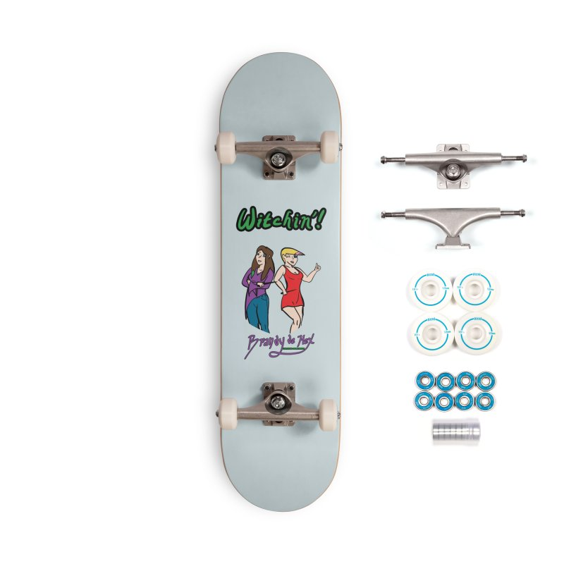 Brandy de Hex: Witchin'! Accessories Complete - Basic Skateboard by Starry Knight Studios