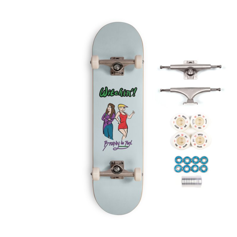 Brandy de Hex: Witchin'! Accessories Complete - Premium Skateboard by Starry Knight Studios