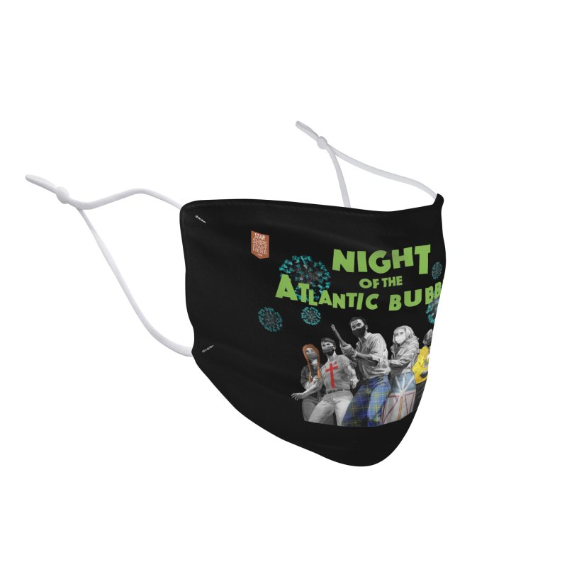 Night of the Atlantic Bubble Accessories Face Mask by starshipsstarthere's Artist Shop