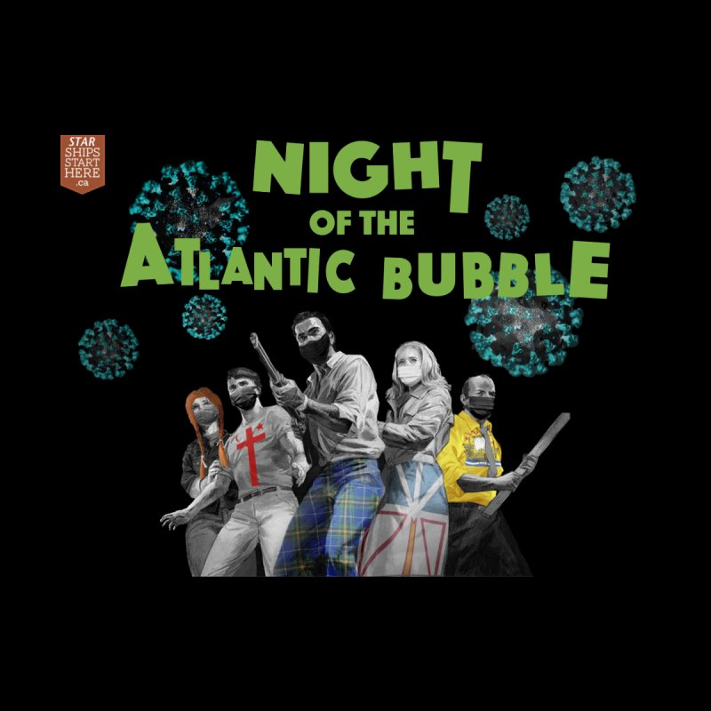 Night of the Atlantic Bubble Men's T-Shirt by starshipsstarthere's Artist Shop