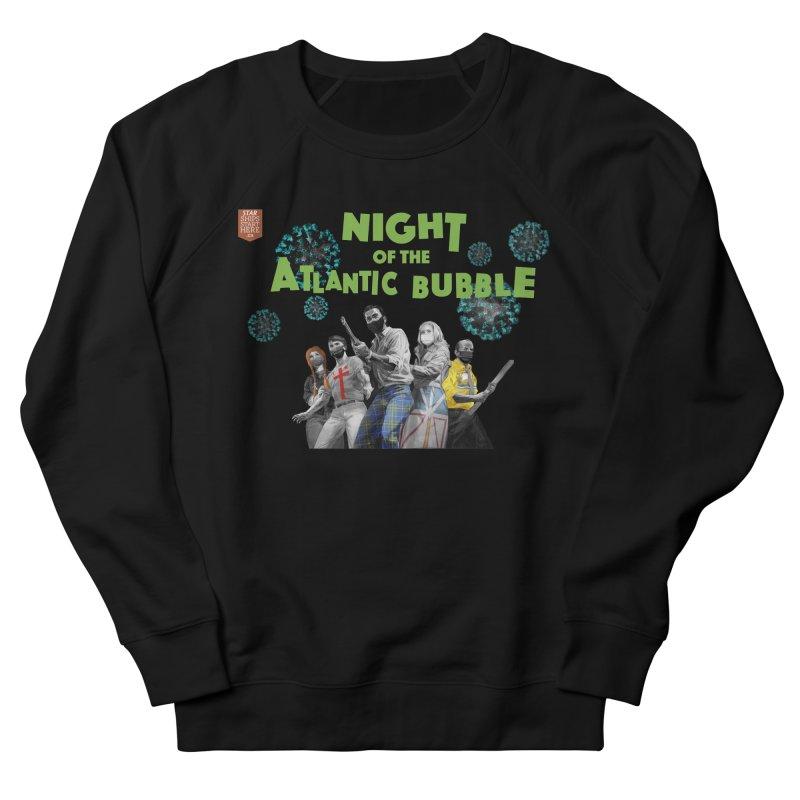 Night of the Atlantic Bubble Men's Sweatshirt by starshipsstarthere's Artist Shop