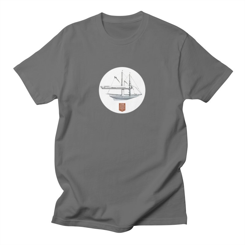 Bluenose Warp Men's T-Shirt by starshipsstarthere's Artist Shop