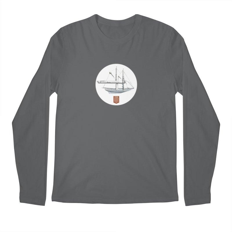 Bluenose Warp Men's Longsleeve T-Shirt by starshipsstarthere's Artist Shop
