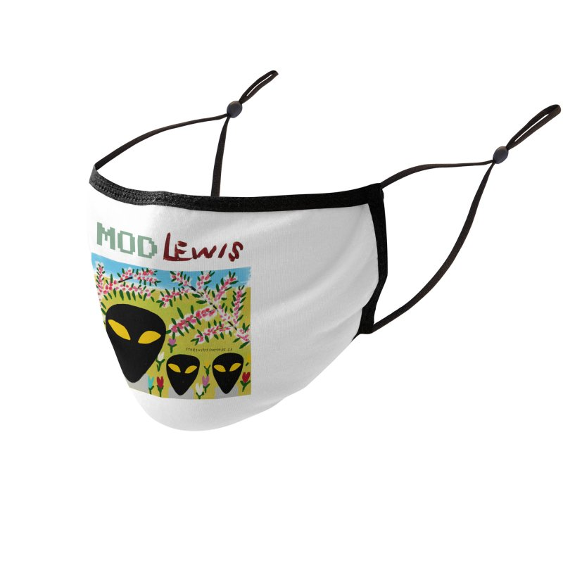 Mod Lewis 3 Aliens Accessories Face Mask by starshipsstarthere's Artist Shop