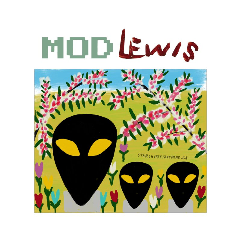 Mod Lewis 3 Aliens Men's Sweatshirt by starshipsstarthere's Artist Shop