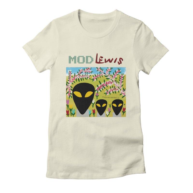 Mod Lewis 3 Aliens Women's T-Shirt by starshipsstarthere's Artist Shop