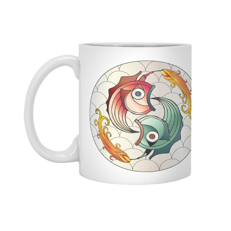 Deco Fish Twins Logo 2019! Accessories Mug by starstar's Artist Shop