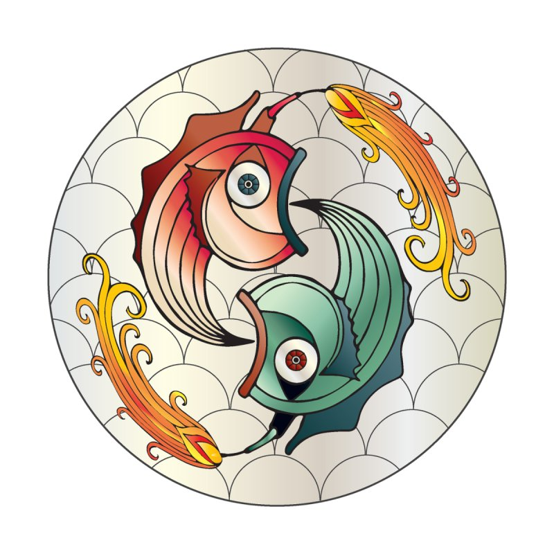 Deco Fish Twins Logo 2019! by starstar's Artist Shop