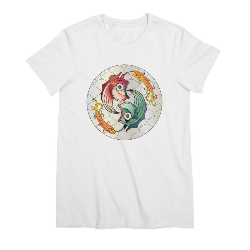 Deco Fish Twins Logo 2019! Women's Premium T-Shirt by starstar's Artist Shop