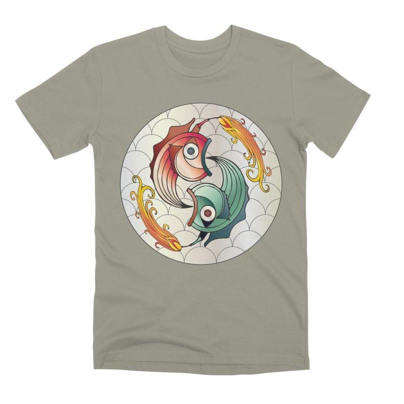 Deco Fish Twins Logo 2019! Men's Premium T-Shirt by starstar's Artist Shop