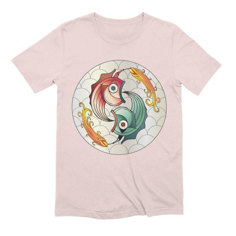 Deco Fish Twins Logo 2019! Men's Extra Soft T-Shirt by starstar's Artist Shop
