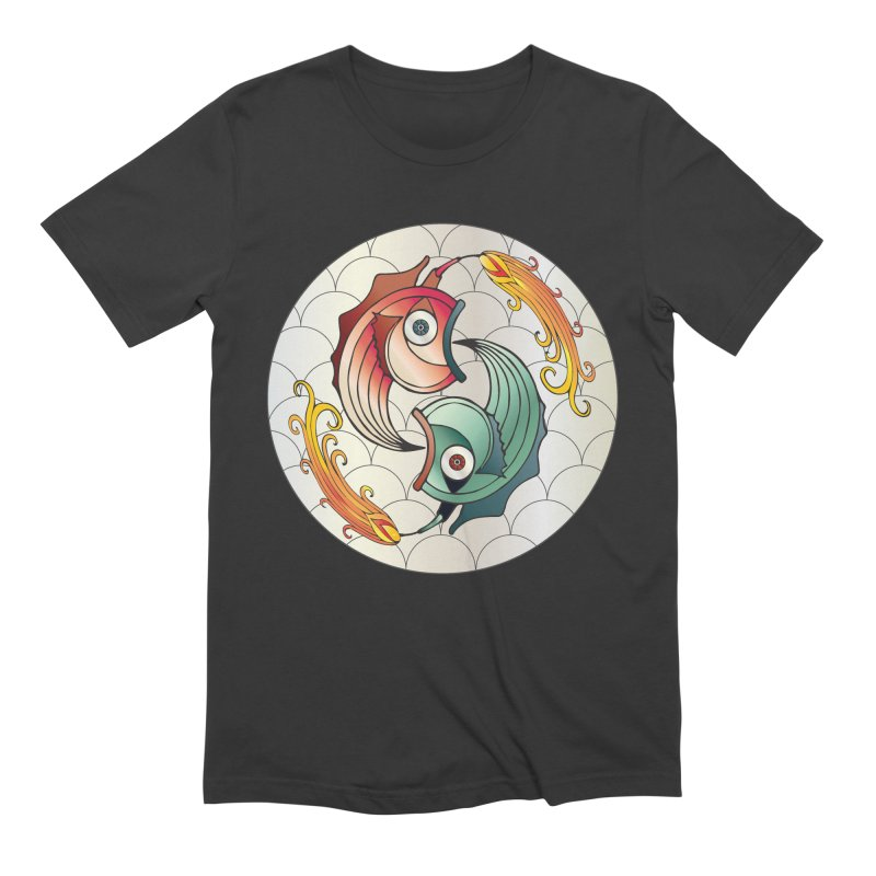 Deco Fish Twins Logo 2019! Men's Extra Soft T-Shirt by starstar's Artist Shop