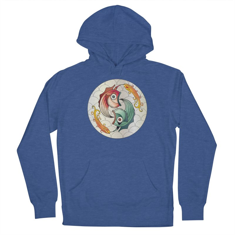 Deco Fish Twins Logo 2019! Women's Pullover Hoody by starstar's Artist Shop