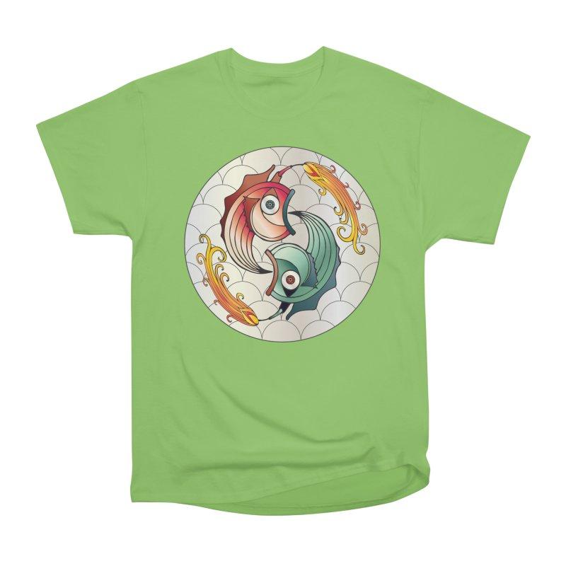 Deco Fish Twins Logo 2019! Men's Heavyweight T-Shirt by starstar's Artist Shop